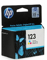 Картридж Hp 123 F6v16ae Tri-Colour (цветной) для Hp Deskjet 2130