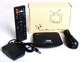 Мультимедия плеер Noname T96 4k Ultra_hd/smart_tv (android Tv Box) приставка